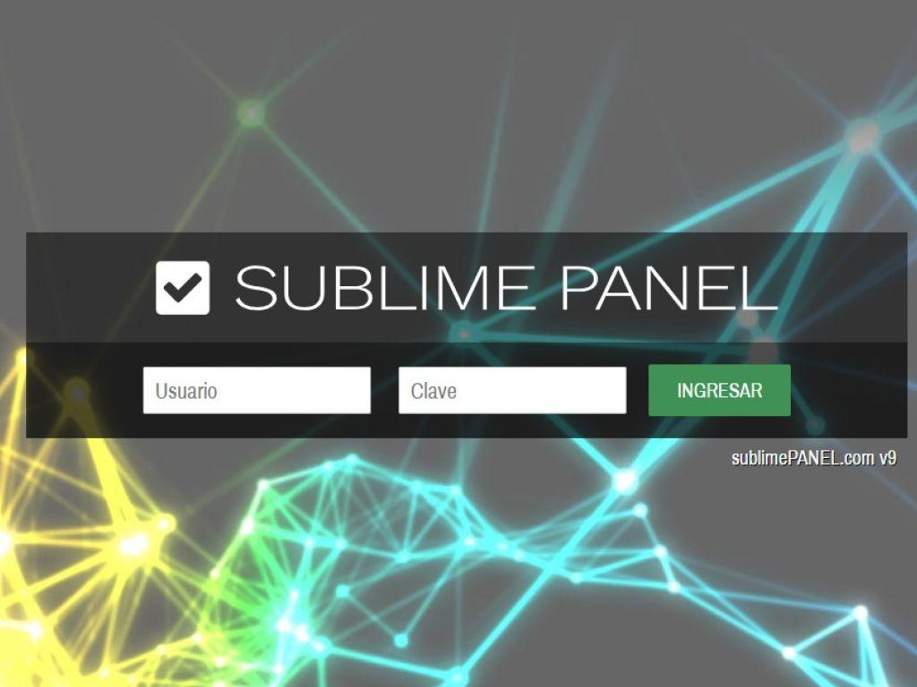 PLATAFORMA, SUBLIMEPANEL PANEL v9, el software de gestión de contenidos inteligente